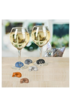 Fred & Friends Kitty Wine Markers - Alternate List Image