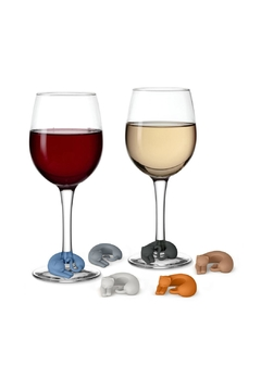 Fred & Friends Kitty Wine Markers - Product List Image