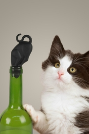Fred & Friends Kitty Wine Stopper - Product Mini Image