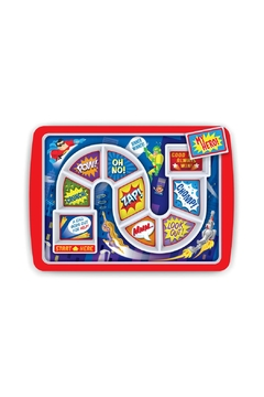Shoptiques Product: Superhero Kid's Plate