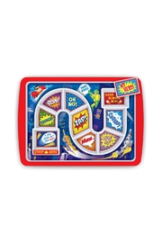 Fred & Friends Superhero Kid's Plate - Product Mini Image