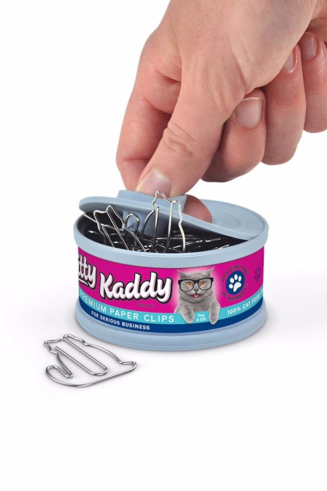 Fred and Friends Cat Paper Clips - Side Cropped Image