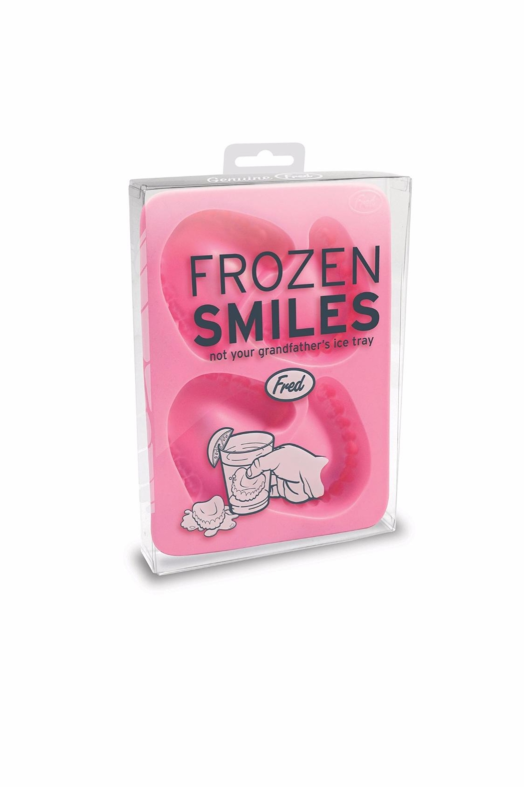 Fred and Friends Dentures Ice Tray - Front Full Image