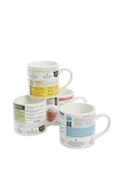 Fred and Friends Grub Mug Set - Front cropped
