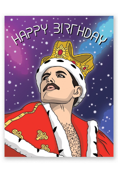 The Found  Freddie Mercury Card - Product List Image