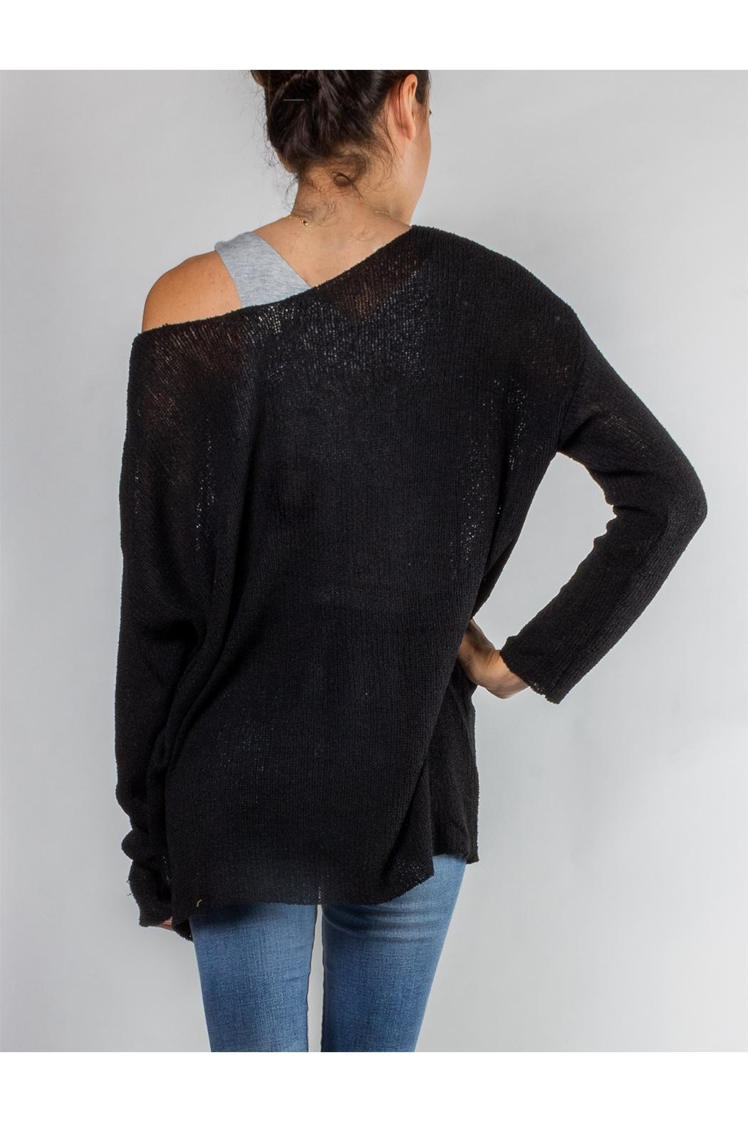 Le Lis Free Bird Knit-Sweater - Side Cropped Image