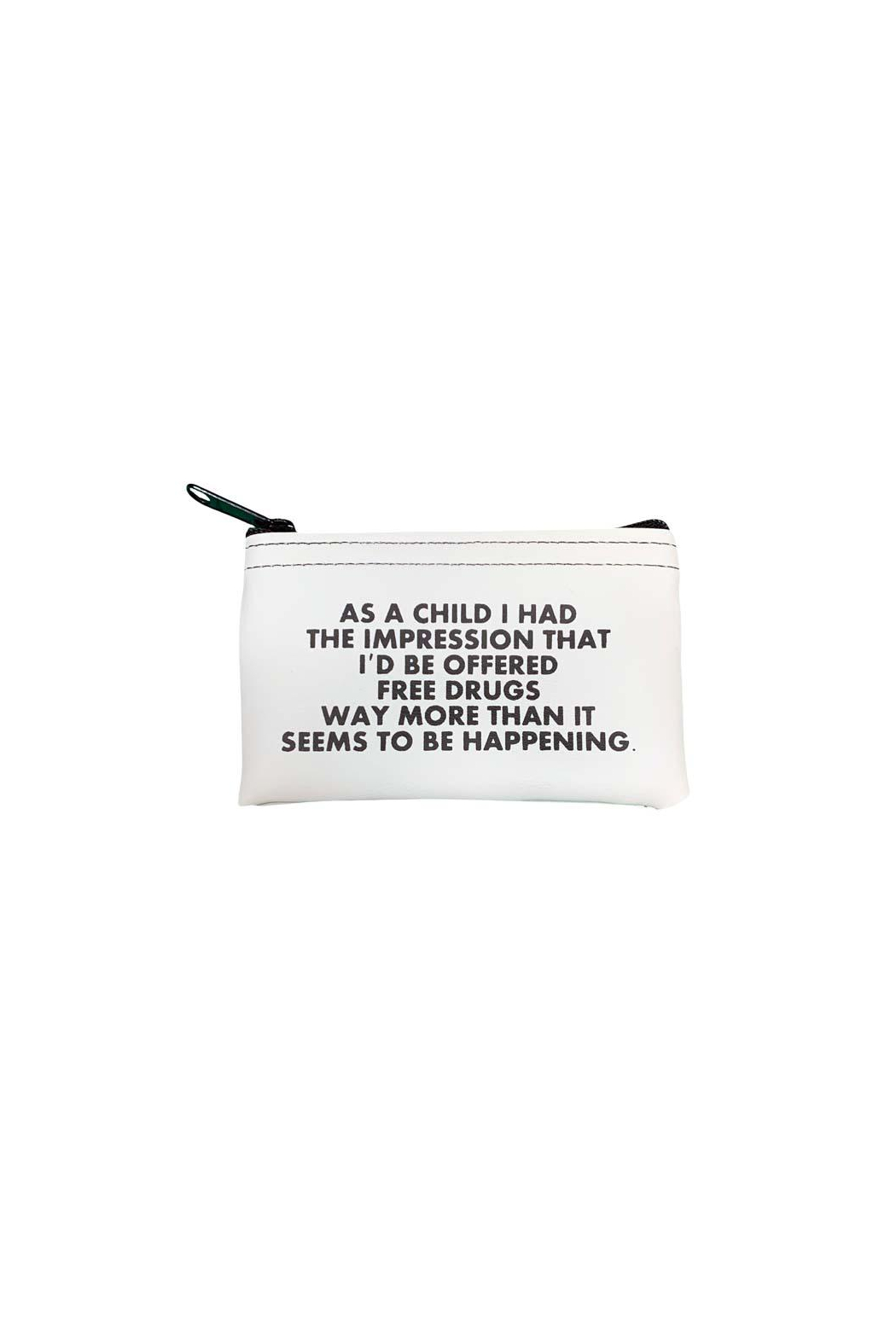 He Said, She Said Free Drugs Coin Pouch - Front Full Image