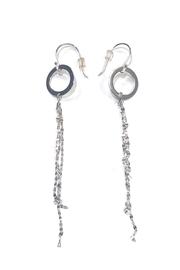 Lets Accessorize Free-Flowing Geometric Earrings - Product Mini Image