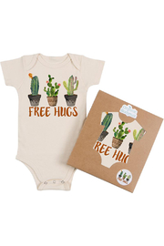 Morado Designs Free Hugs Organic Bodysuit - Product Mini Image