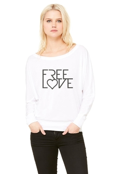 Bella Canvas Free Love Flowy - Product List Image