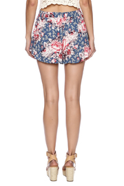 Free People Antiqued Floral Shorts - Back cropped