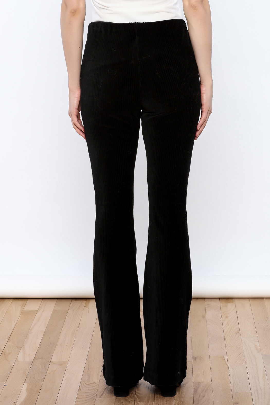 Free People Baby Bell Pants - Back Cropped Image