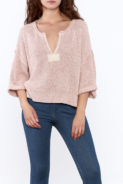 Shoptiques Product: Blush Pink Knitted Sweater