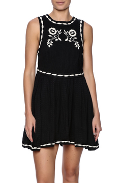 Shoptiques Product: Embroidered Mini Dress