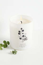 Free People Eucalyptus + Siberian Pine Candle - Front full body