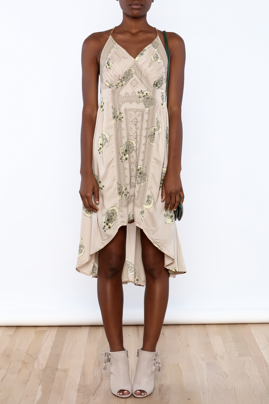 Free People Fauna Tea Dress - Front Cropped Image
