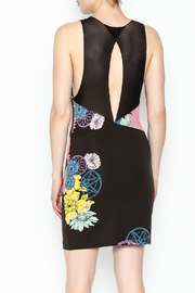 Free People Floral Bodycon Dress - Back cropped