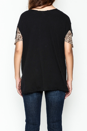 Free People Flutter Sleeve Graphic Tee - Back cropped