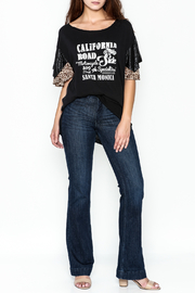 Free People Flutter Sleeve Graphic Tee - Side cropped