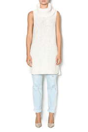 Free People Ivory Comb Turtleneck - Front full body
