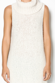 Free People Ivory Comb Turtleneck - Other