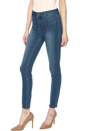 Free People High Waisted Skinny Jeans - Product Mini Image