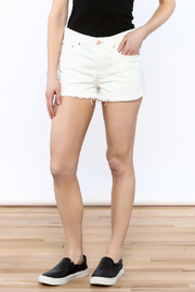 Free People High-Rise Denim Shorts - Product Mini Image