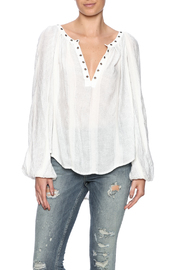 Free People Ivory Comb Top - Product Mini Image