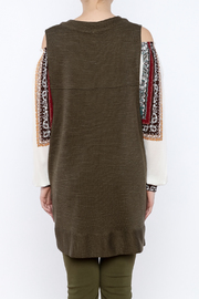 Free People Knit Highway Vest - Back cropped