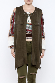 Free People Knit Highway Vest - Front cropped