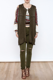Free People Knit Highway Vest - Front full body
