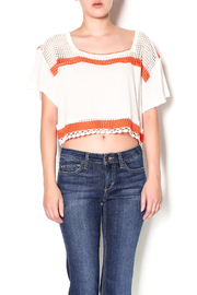 Free People Knitted Crop Tee - Product Mini Image
