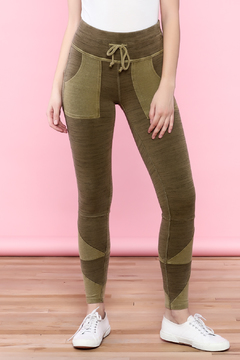 Shoptiques Product: Olive High-Waist Leggings