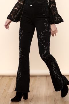 Shoptiques Product: Love Forever Embroidered Flares