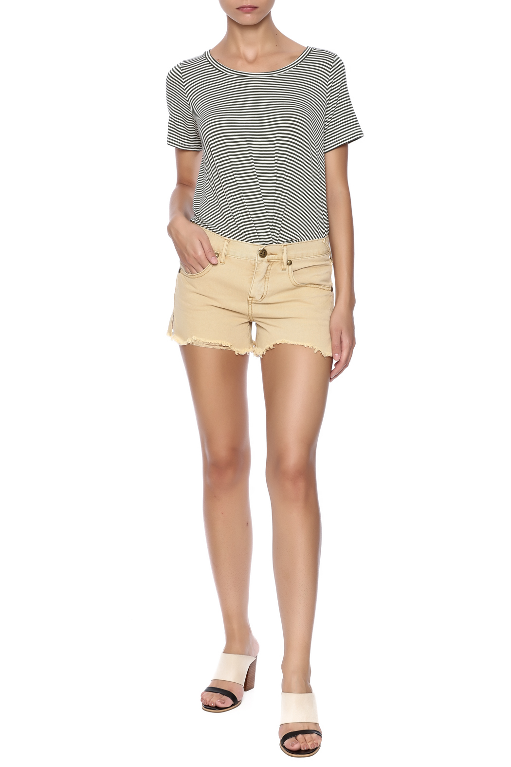 Free People McKinley Shorts - Front Full Image