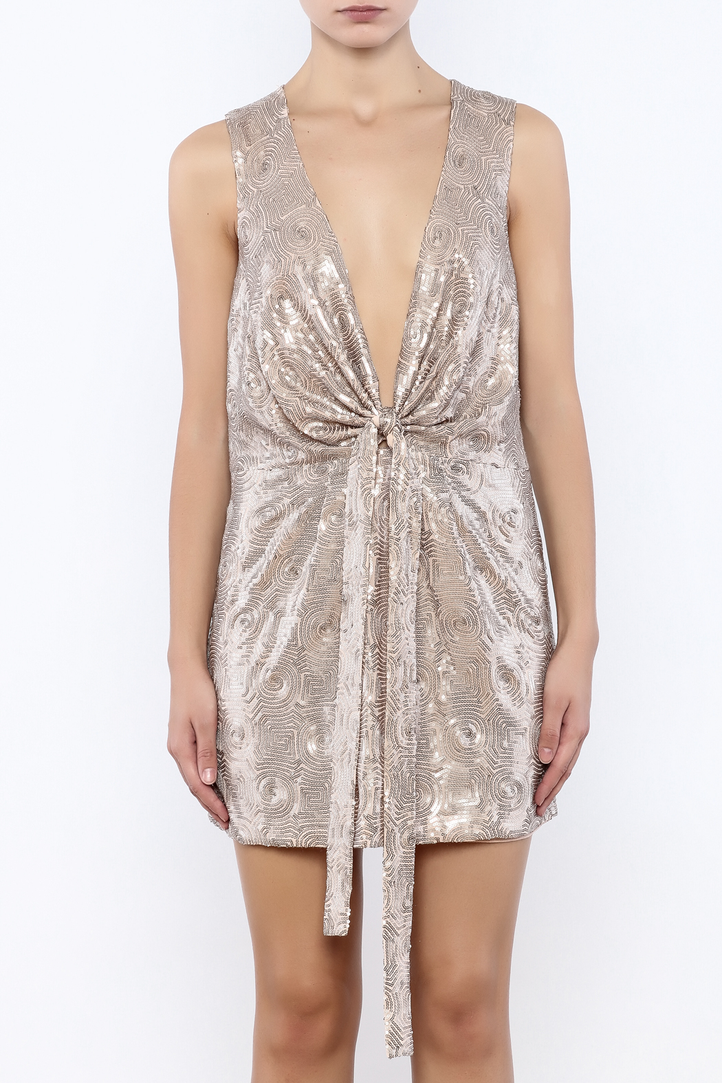 Free People Paris Party Dress - Side Cropped Image