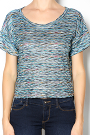 Free People Rainbow Wave Box Tee - Other