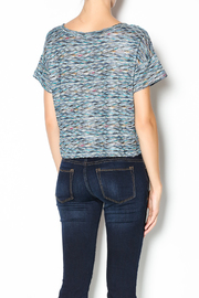 Free People Rainbow Wave Box Tee - Back cropped