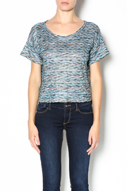 Free People Rainbow Wave Box Tee - Front cropped