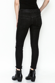 Free People Ripped Knee Skinny Jeans - Back cropped