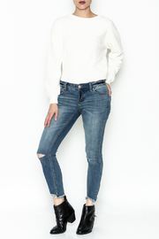Free People Ripped Knee Skinny Jeans - Side cropped