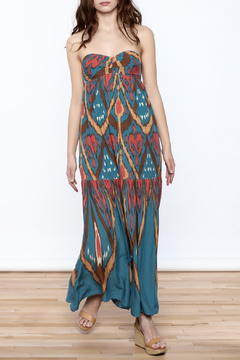 Shoptiques Product: Strapless Maxi Dress