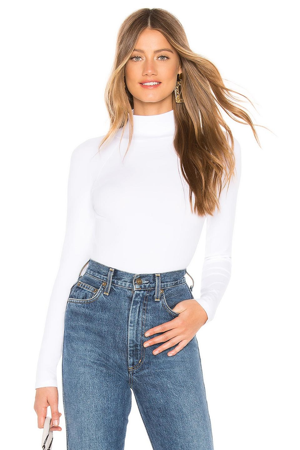 Free People Turtleneck - Front Cropped Image