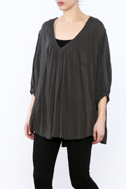 Free People Grey Oversized Tunic Top - Product Mini Image