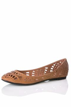 Shoptiques Product: Cherry Tan Flats