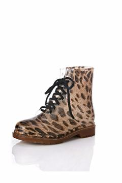 Free Love Boutique Leopard Gomy Boots - Alternate List Image