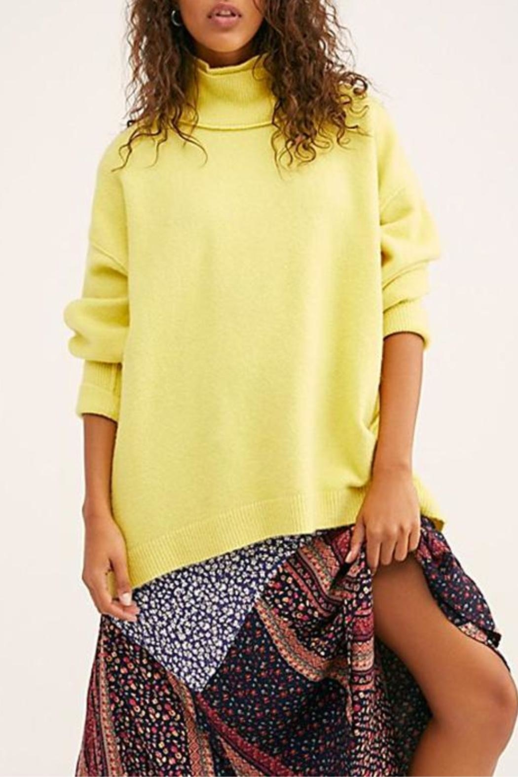 Free People Afterglow Mock Neck Sweater - Main Image