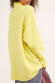 Free People Afterglow Mock Neck Sweater - Front full body