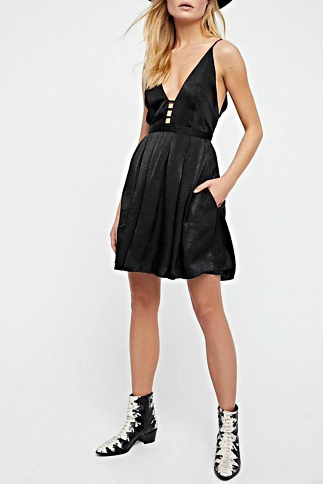 Free People All Night Mini - Front Cropped Image