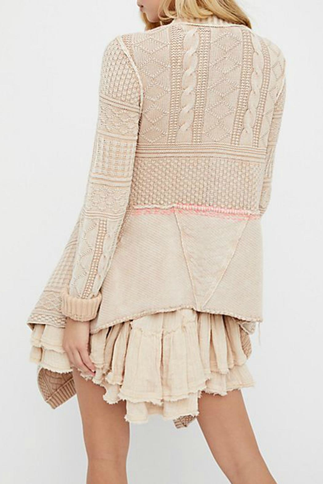 Free People All Washed Out-Cardi - Front Full Image